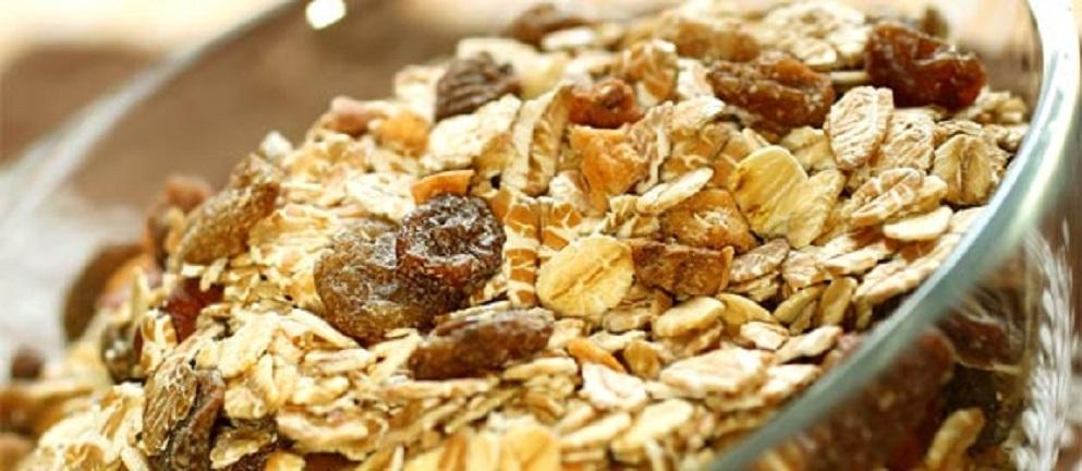 Receta para hacer granola en casa