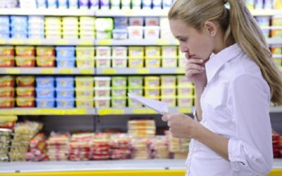 Lista de sustancias peligrosas contenidas en la comida