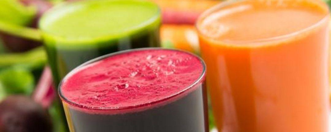 Recetas de jugos, tés, tónicos, smoothies detox