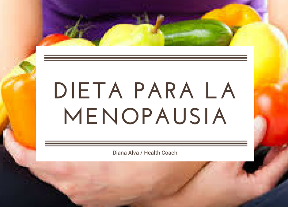 Dieta para menopausia