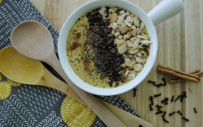 Receta Smoothie Bowl Chai