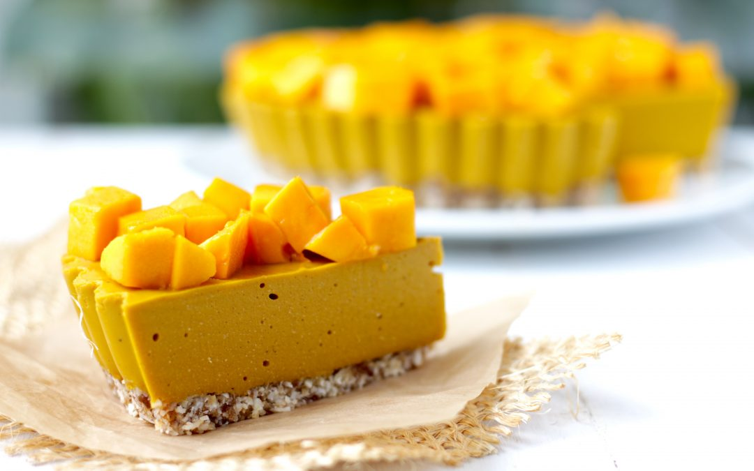 Pay de Mango – Sin gluten, sin lácteos, sin azúcar refinada
